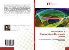 Bookcover of Participation à l'Instauration d'Assurance Qualité