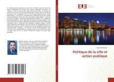Bookcover of Politique de la ville et action publique