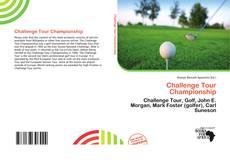Portada del libro de Challenge Tour Championship