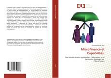 Bookcover of Microfinance et Capabilités:
