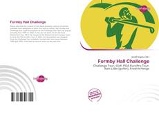 Bookcover of Formby Hall Challenge