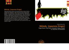 Bookcover of Melody. (Japanese Singer)