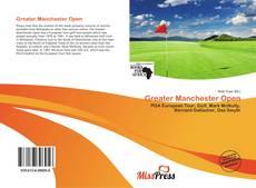 Capa do livro de Greater Manchester Open