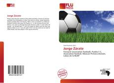 Bookcover of Jorge Zárate