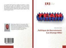 Capa do livro de Politique de Recrutement: Cas Orange MALI
