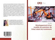 Bookcover of Développement d'un modèle de prévision de l'état induit du traitement