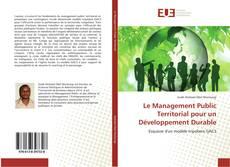 Borítókép a  Le Management Public Territorial pour un Développement Durable - hoz