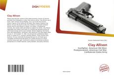 Bookcover of Clay Allison