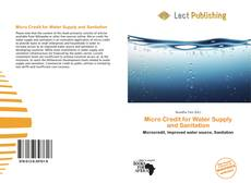 Bookcover of Micro Credit for Water Supply and Sanitation