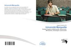 Bookcover of Université Marquette
