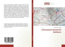 Bookcover of L'Economie Sociale Et Solidaire