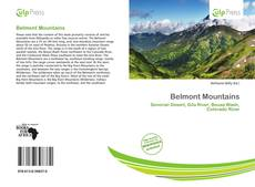 Обложка Belmont Mountains