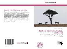Buchcover von Banksia Ericifolia Subsp. ericifolia