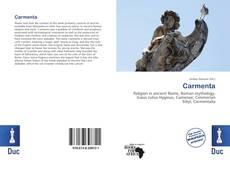 Copertina di Carmenta