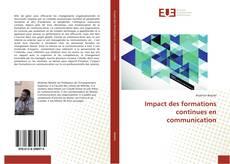 Copertina di Impact des formations continues en communication