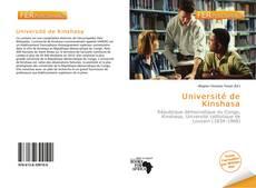 Portada del libro de Université de Kinshasa