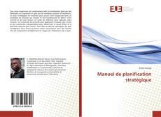 Manuel de planification stratégique kitap kapağı