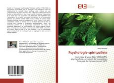 Bookcover of Psychologie spiritualiste