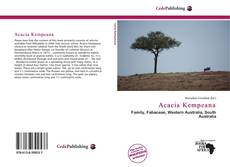 Bookcover of Acacia Kempeana