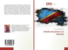 Articles de presse sur Kolwezi kitap kapağı