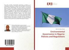 Portada del libro de Environmental Governance in Nigeria: Policies and Regulations