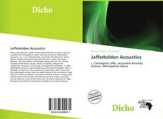 Bookcover of JaffeHolden Acoustics