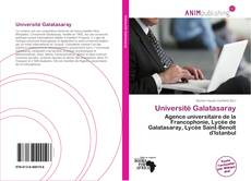 Bookcover of Université Galatasaray