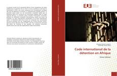 Bookcover of Code international de la détention en Afrique