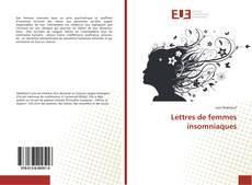 Bookcover of Lettres de femmes insomniaques