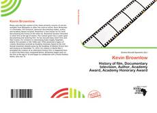 Bookcover of Kevin Brownlow