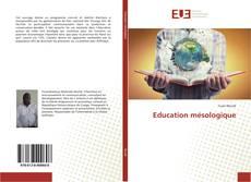 Bookcover of Education mésologique
