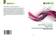 Buchcover von John Meyer (audio engineer)