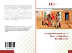 Bookcover of Les Déterminants de la Pauvreté Rurale à Madagascar