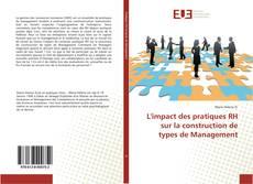 L'impact des pratiques RH sur la construction de types de Management的封面