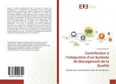 Buchcover von Contribution à l'intégration d'un Système de Management de la Qualité