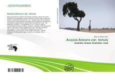 Buchcover von Acacia Aneura var. tenuis