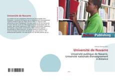 Copertina di Université de Navarre