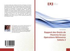 Portada del libro de Rapport des Droits de l'homme lié aux Opérations Milimaires Sokola 2