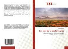 Bookcover of Les clés de la performance