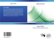 Buchcover von Leon Sibul