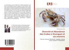 Diversité et Abondance des Crabes à Kisangani et ses environs kitap kapağı