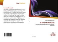 Portada del libro de Bernard Thériault