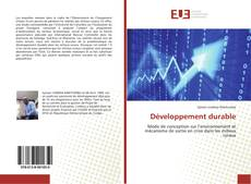 Bookcover of Développement durable