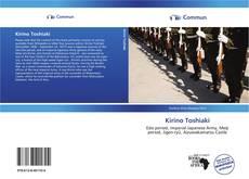 Buchcover von Kirino Toshiaki