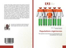 Bookcover of Populations nigériennes