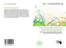 Couverture de Particule (Grammaire)