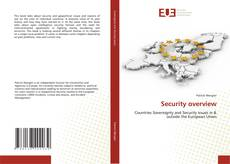 Couverture de Security overview