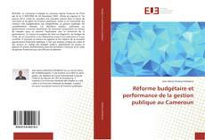Réforme budgétaire et performance de la gestion publique au Cameroun kitap kapağı