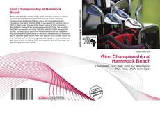 Capa do livro de Ginn Championship at Hammock Beach