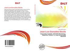 Buchcover von José Luis González Dávila